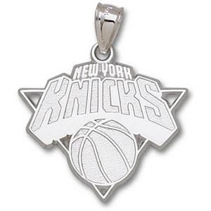 Sterling Silver 1in New York Knicks Logo Pendant