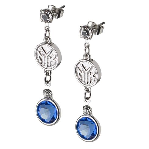 New York Knicks Crystal Logo Earrings