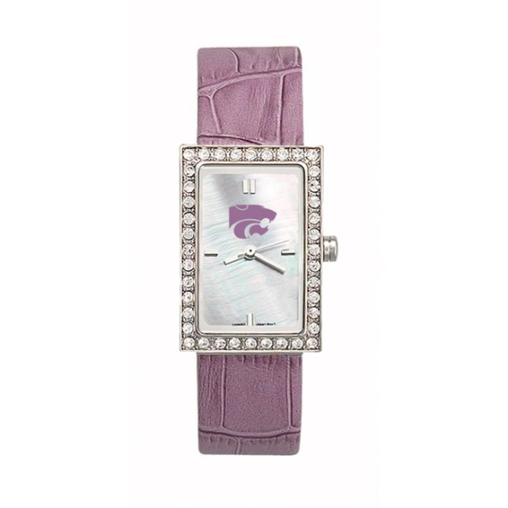 Kansas State Wildcats Starlette Leather Watch