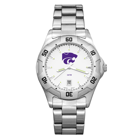 Kansas State University All-Pro Men's Chrome Watch