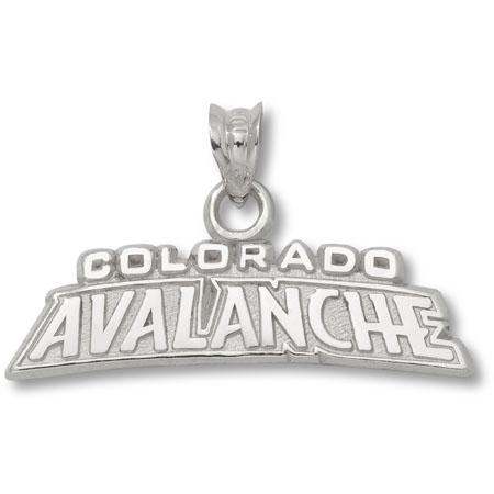 Sterling Silver Colorado Avalanche 1/4in Pendant