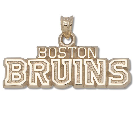 3/8in Boston Bruins 14KT Yellow Gold