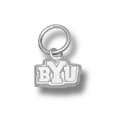 Sterling Silver BYU 3/16in Charm