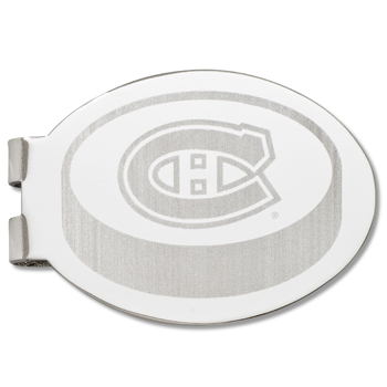 Montreal Canadiens Silver Plated Laser Engraved Money Clip