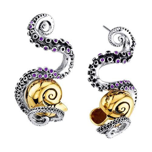 Disney X RockLove The Little Mermaid Tentacle Earrings