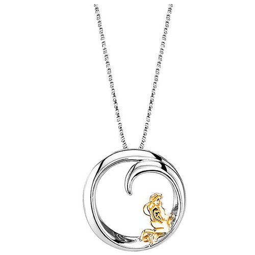 Gold-plated Sterling Silver Ariel Who Says That My Dreams Necklace