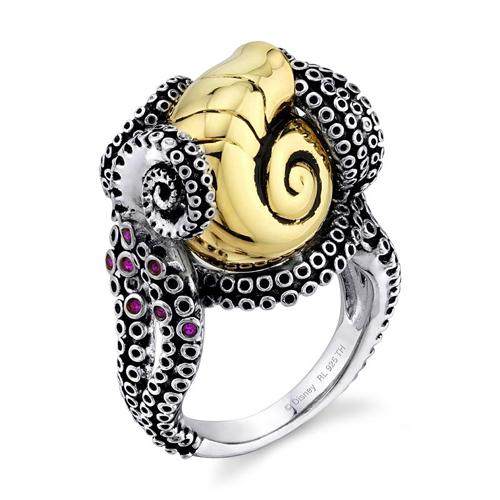 Disney X RockLove The Little Mermaid Tentacle Ring