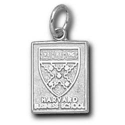 Sterling Silver 1/2in Harvard Business School Pendant