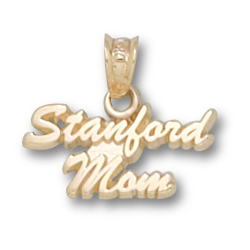 10kt Yellow Gold Stanford Mom Pendant