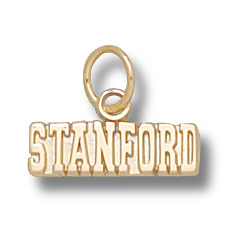 14kt Yellow Gold 3/16in Stanford University STANFORD Pendant