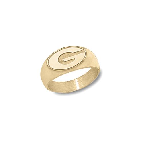 14kt Gold Men's University of Georgia G Ring