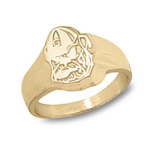 10kt Gold University of Georgia Bulldog Ladies' Ring