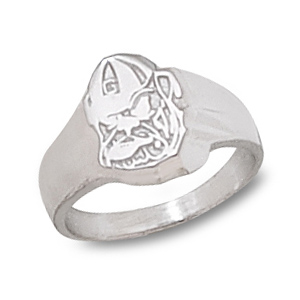 Sterling Silver Georgia Bulldogs Ladies' Ring