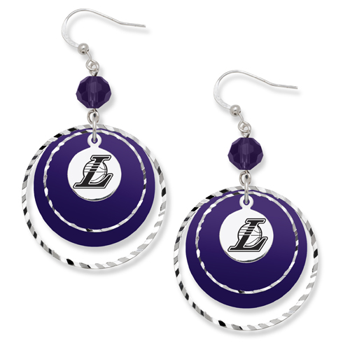 Los Angeles Lakers Game Day Earrings