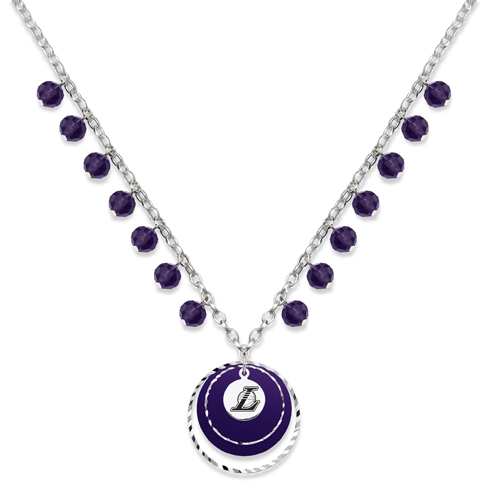 Los Angeles Lakers Game Day Necklace