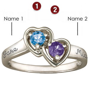 Sterling Silver Cupid Promise Ring