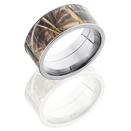 10mm Realtree Titanium Camo Ring