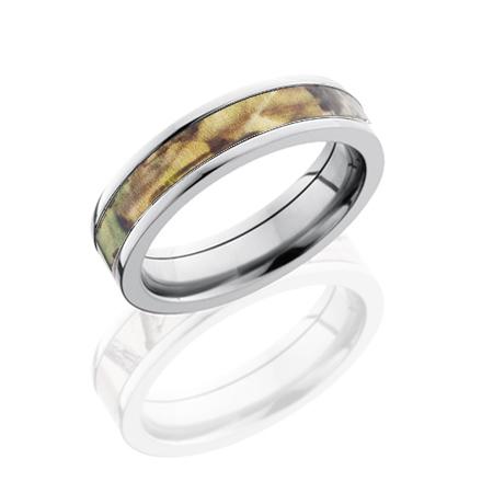 5mm Mossy Oak Titanium Camo Ring