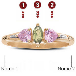 Heart's Embrace Ring