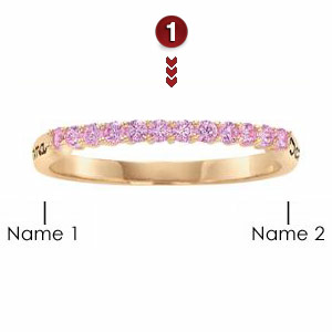 Iridescence Stackable Ring