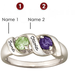 Melodic Rounds Mother's Ring - Sterling Silver