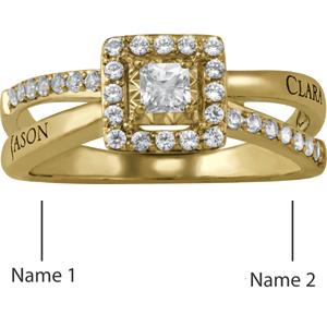 Romantic Promise Ring