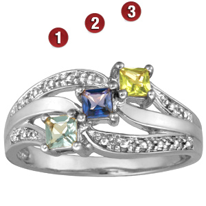 Shine 14kt White Gold Ring