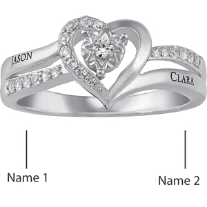 Sterling Silver Sincere Promise Ring | Joy Jewelers