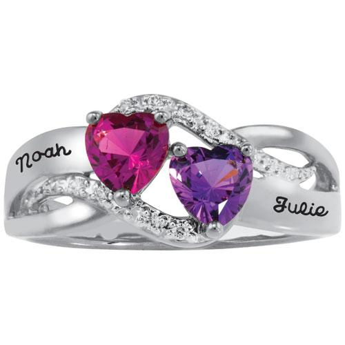 Sonnet Promise Ring Sterling Silver