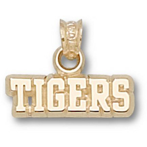 LSU Tigers 3/16in 10k Pendant
