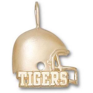 LSU Tigers 3/4in 10k Helmet Pendant