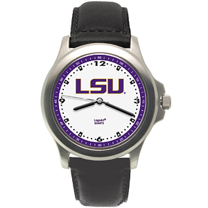 LSU Tigers Rookie Leather Watch - Clearance