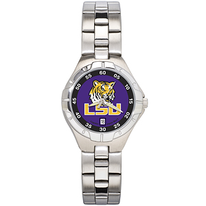 Louisiana State University Ladies Stainless Steel Pro II Watch