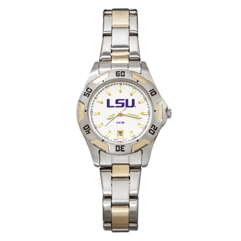 Louisiana State University All-Pro Women's Two-Tone Watch