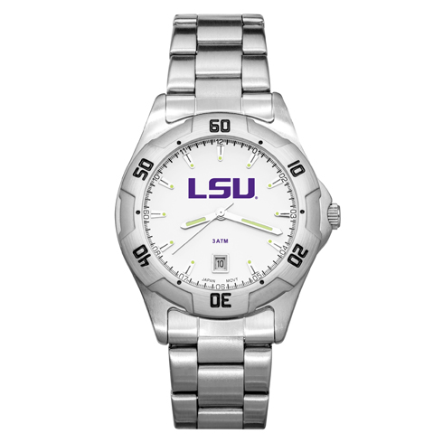Louisiana State University All-Pro Men's Chrome Watch
