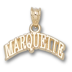 Marquette 1/4in Pendant 10kt Yellow Gold