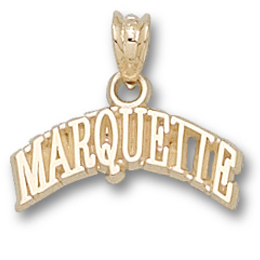 Marquette 1/4in Pendant 14kt Yellow Gold