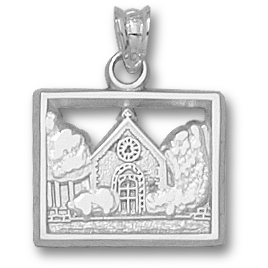 Marquette Chapel 1/2in Pendant Sterling Silver