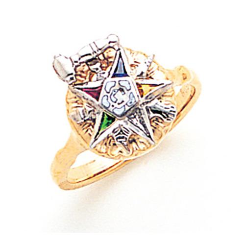 Eastern Star Past Matron Ring - 10k Gold