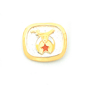 Shriners Tie Tac - Sterling Silver