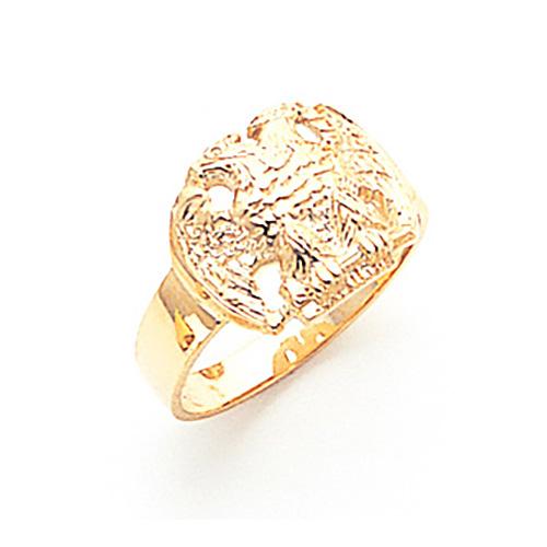 Masonic Scottish Rite Ring - 14k Gold