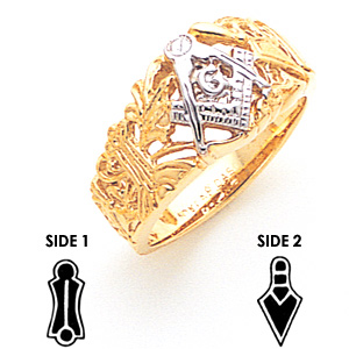 Blue Lodge Ring - 10k Gold