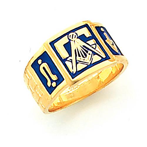 Blue Lodge Ring - Vermeil