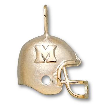 Marshall Thundering Herd 3/4in 14k Helmet