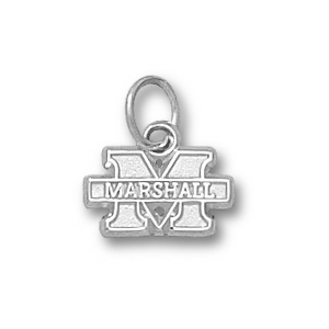 Marshall 1/4in Sterling Silver New M Pendant