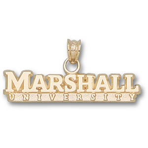 Marshall 1/4in 14k Wordmark Pendant