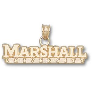 Marshall 1/4in 10k Wordmark Pendant