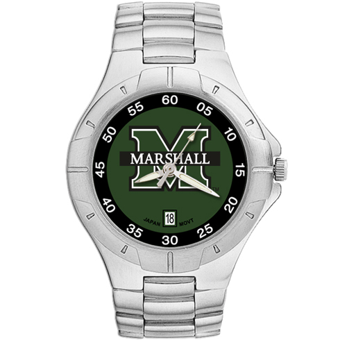 Marshall University Pro II Men's Bracelet Watch