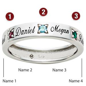 Loving Circle Sterling Silver Ring