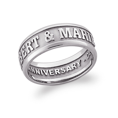 Sterling Silver Gallant Promise Ring